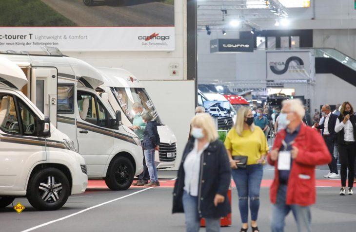 Der 59. Caravan Salon in Düsseldorf trotzte der Corona-Krise und bewies mit 107.000 Besuchern die Beliebtheit der Urlaubsform Caravaning. (Foto: Messe Düsseldorf)