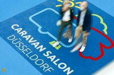 Veranstalter und Aussteller zeigen sich zufrieden mit der Halbzeitbilanz des Caravan Salon 2020 in Düsseldorf. (Foto Tillman/Messe Düsseldorf)