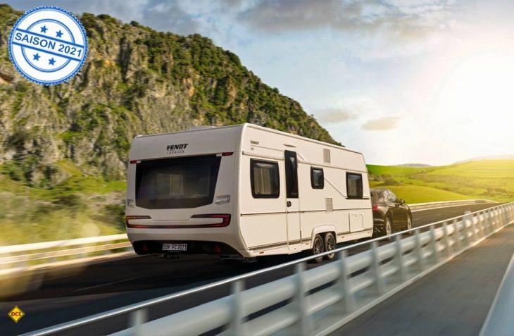 Fendt Caravan hat seine Top-Baureihe Diamant für die Saison 2021 komplett neu aufgelegt. (Foto: Fendt)
