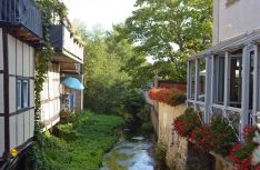 """Salzwedel liegt an zwei Flüssen und gilt mit 54 Brücken als """"Venedig des Nordens"""". (Foto: der / D.C.I.)"""