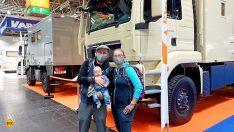 Hier ein Bild von einem der - wahrscheinlich - jüngsten Besucher des diesjährigen Caravan Salon Düsseldorf. Er heißt Jona Taavi und ist gerade 4 Monate alt. (Foto: tom/D.C.I.)