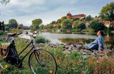 Die Altmark ist ein Radlerparadies mit vielen bekannten Radwanderwegen: Entspannen an Havel und Elbe in Havelberg. (Foto: IMG)