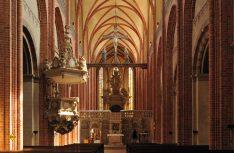 Imposant: Das mächtige gotische Längsschiff des Havelberger Doms Sant Marien. (Foto: IMG)