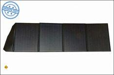 Die vier faltbaren Solarmodule von Revolt bringen 200 Watt Leistung und können schnell und einfach überall aufgestellt werden. (Foto: Pearl)