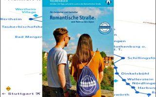 """Die Touristik Arbeitsgemeinschaft Romantische Straße hat ein neues Tourenbuch """"Für Entdecker und Genießer – Romantische Straße vom Main zu den Alpen"""" aufgelegt. (Foto: Romantische Strasse)"""