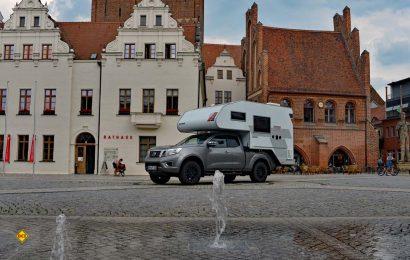 Highlights der Altmark: Die Hansestädte mit tollen mittelalterlichen Fachwerkensembles. Hier der Tischer auf dem Marktplatz von Stendal. (Foto: det / D.C.i.)