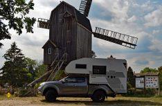 Die Bockwindmühle Wanzer liegt am Elberadweg, kann aber auch bequem mit dem Wohnmobil erreicht werden. (Foto: det / D.C.I.)