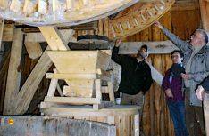 Die Bockwindmühle Wanzer ist voll funktionsfähig. (Foto: Windmühlen- und Heimatverein Garbe e.V.)