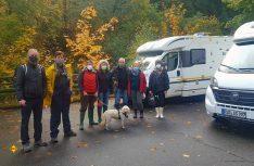 Der Verein WOHNmobil für Klimaschutz on Tour zur Pflanzaktion im Harz. (Foto: Wohnmobil für Klimaschutz)