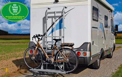 """Der Deutsche Camping Club (DCC) zeichnet das Fahrrad-Liftsystem tecklift mit """"Technik Award 2020"""" aus. (Foto: tecklift)"""