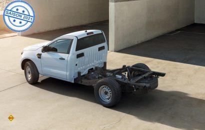 Ford bietet seinen erfolgreichen Pick-Up Ranger jetzt auch als Fahrgestell für Spezialaufbauten wie Allrad-Wohnmobile an. (Foto: Ford)