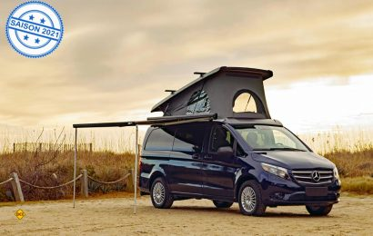 Erster Camper-Van auf Basis des Mercedes-Benz Vito in den USA: Der Metris Getaway von Driverge Vehicle Innovations. (Foto: Mercedes-Benz)