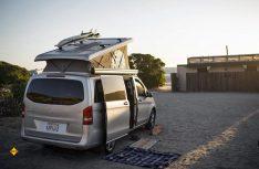 Den Peace Vans-Camper hat fünf Sitzplätze und vier Schlafplätze und lässt sich optional nach eigenen Wünschen konfigurieren. (Foto: Peace Vans)