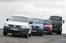 2006 war die Neuaufstellung der gesamten damaligen Modellpalette abgeschlossen: Caddy 3, T5, Crafter und Constellation. (Foto: VWN)
