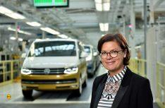 """Bertina Murkovic, Betriebsratsvorsitzende Volkswagen Nutzfahrzeuge: """"1995 begann eine beispiellosen Erfolgsgeschichte, auf die wir alle zu Recht stolz sein können."""" (Foto: VWN)"""
