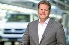 """Dr. Carsten Intra, CEO Volkswagen Nutzfahrzeuge: """"In den vergangenen 25 Jahren hat sich Volkswagen Nutzfahrzeuge zu einer Marke mit riesiger Strahlkraft entwickelt."""" (Foto: VWN)"""