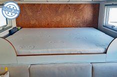 Gesunder Schlaf ist - besonders in Reisemobil und Caravan wichtig: G+S-Matratzen ermöglichen schnell und preiswert ein Update des Schlafkomforts. (Foto: G+S. Die Polstermacher)
