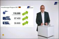 CIVD-Präsident Hermann Pfaff präsentierte in der ersten Digital-Jahrespressekonferenz des Herstellerverbandes die Zahlen des abgelaufenen Jahres. (Foto: Screenshot CIVD-PK)