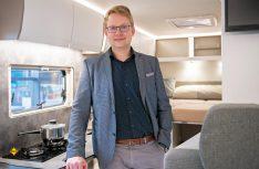 Konstantin Döhler ist Direktor Sales, Marketing, Entwicklung und Produktion beim Traditionsunternehmen Frankia in Marktschorgast. (Foto: Frankia)
