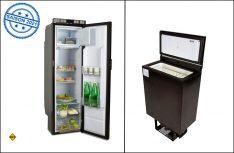 Webasto stellt zwei neue Kompressor-Kühlschränke vor, die sich insbesondere für Camper Vans, Reisemobile und Wohnwagen mit schmalen Küchenzeilen eignen. (Foto: Webasto)