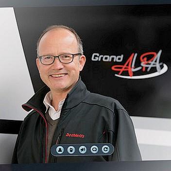 Helge Vester, Pressesprecher der Marke Dethleffs. (Foto: Dethleffs)