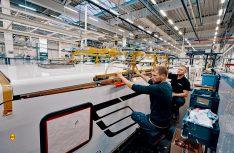 Um der erhöhten Produktion gerecht zu werden, stellt Hymer am Standort Bad Waldsee bis zum nächsten Frühjahr 170 Arbeitskräfte neu ein. (Foto: Hymer)