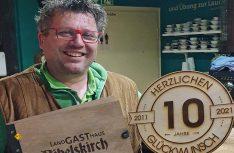 Dietrich Strümpfel bewirtschaftet seit zehn Jahren erfolgreich das besondere Landgasthaus Bibelskirch in Mettman. (Foto: Landgasthaus Bibelskirch)