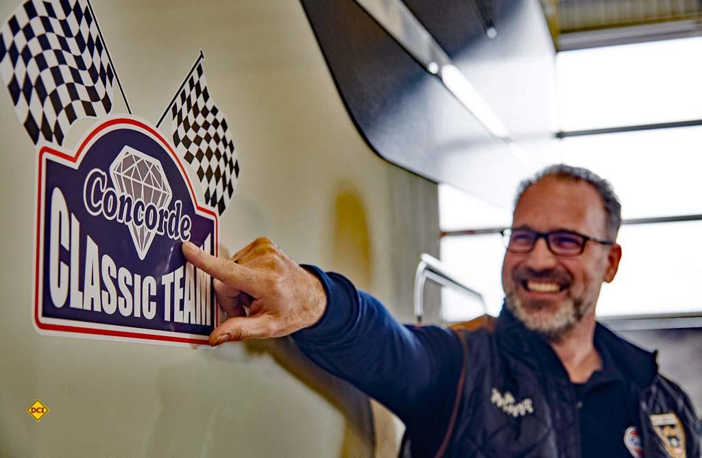 Kay Fischer ist Leiter des Concorde Classic Teams. (Foto: Concode)