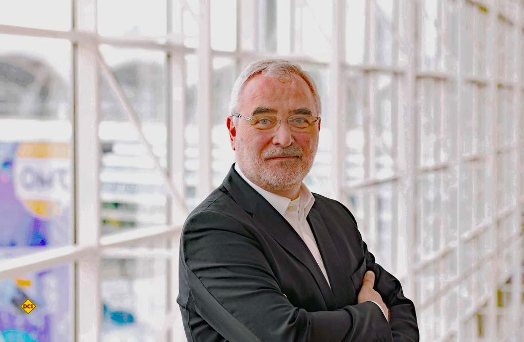 Bernd Aufderheide ist Vorsitzender der Geschäftsführung der Hamburg Messe und Congress. (Foto: Hamburg Messe und Congress)