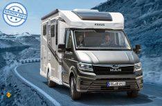Knaus präsentiert das Reisemobil Van TI Plus als Platinum Selection-Edition. (Foto: Knaus Tabbert)