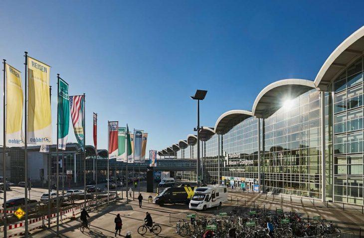Die FreizeitWelten auf dem Gelände der Hamburg Messe und Congress. (Foto: Hamburg Messe und Congress / Rolf Otzipka)