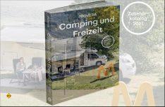 Der Movera-Zubehörkatalog ist als Nachschlagewerk für Camping-Fans mit 596 Seiten und über 9.000 Produkten als Download, Print-Version oder E-Paper-Version verfügbar. (Foto: Movera)