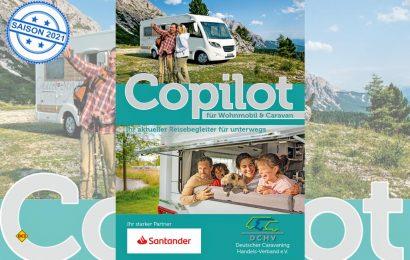 Das Handbuch Copilot 2021 des Deutschen Caravaning Handels-Verbandes DCHV hilft Neulingen beim Einstieg in das Caravaning. (Foto: DCHV)