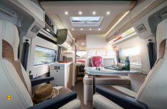 Hochwertige Materialien, überkpmplette Serienausstattung und durchdachte Detaillösungen zeichnen die neue Eura Van-Baureihe aus. (Foto: Eura)