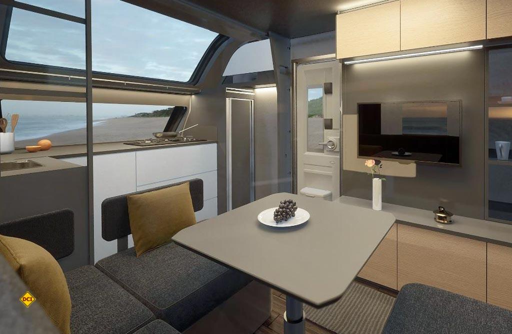 Das Interieur des Maxima gefällt mit einer modernen Gestaltung, offenem Raumkonzept und stylischem Interieur. (Foto: Hobby)