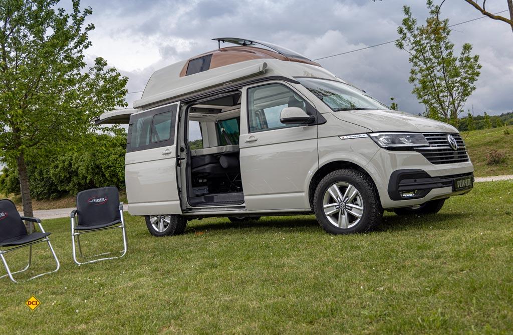 Der TransVan Weekend auf VW T 6.1. von Polyroof. (Foto: VWN)