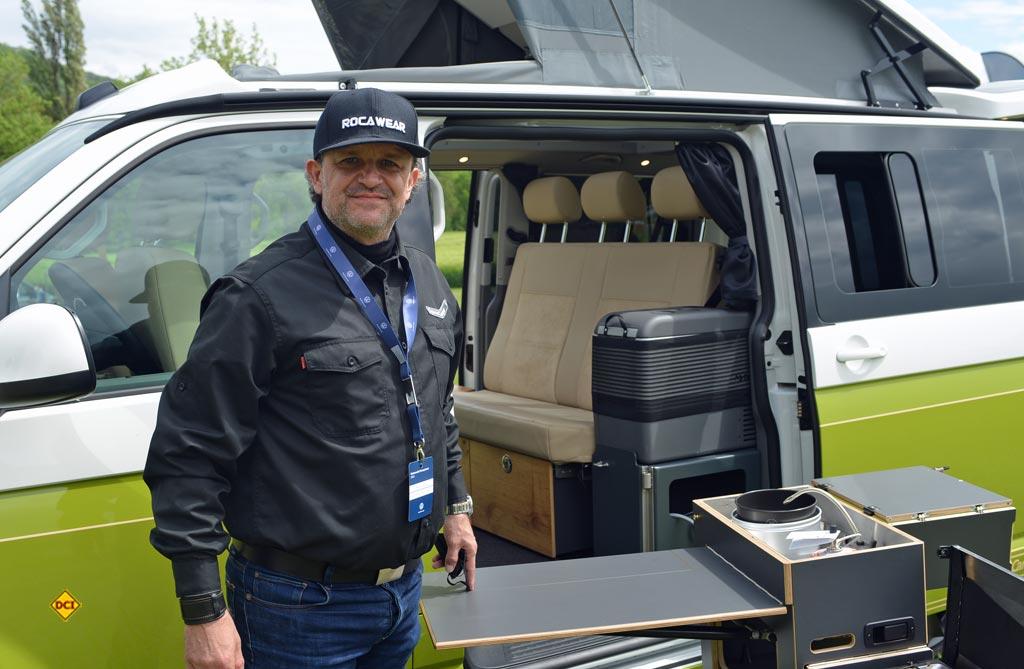 Markus Liebenau ist bei Spacecamper für Presse, Vertrieb und Marketing zuständig. (Foto: det / D.C.I.)