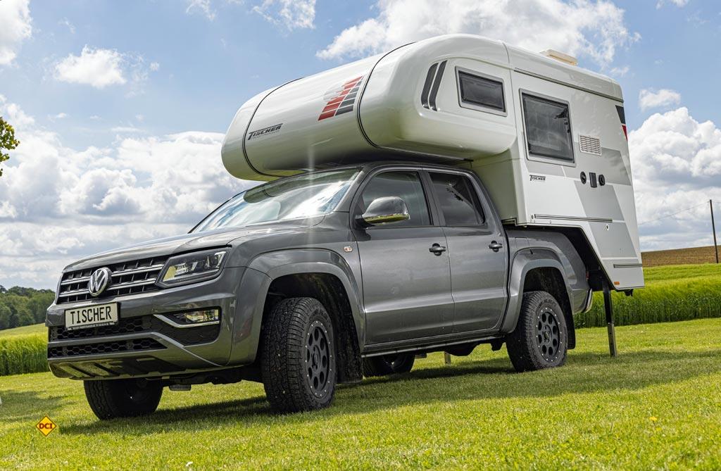 Für den VW Amarok: Die Tischer Pick Up-Kabine Trail 230 S. (Foto: VWN)