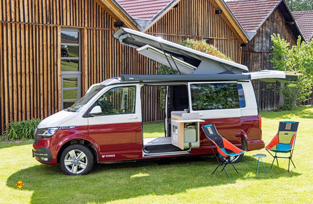 Der Tonke Van kann mit qualitativ hochwertigen Möben berzeugen. (Foto: VWN)