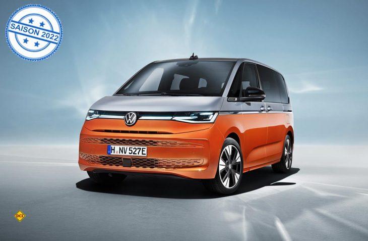Die 7. Generation des Bulli kommt erstmal nur als Multivan auf den Markt (Foto: VWN)