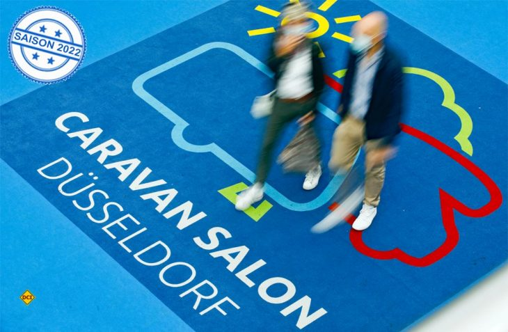 Die weltgrößte Messe für mobile Freizeit, der Caravan Salon in Düsseldorf, findet zum 60.Mal statt und kann mit 300 Neuheiten der Aussteller glänzen. (Foto: Caravan Salon)