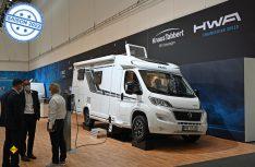 Mit dem E.Power Drive stellt Knaus einen seriennahmen Prototypen eines E-Reismobils auf dem Caravan Salon 2021 vor. (Foto: det / D.C.I.)