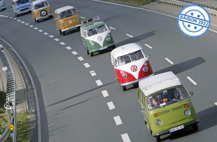 2022 wird der Bulli Konvoi wieder nach Hannover rollen. (Foto: VWN)