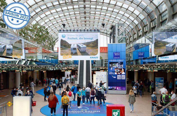 Der 60. Caravan Salon in Düsseldorf ging mit einer guten Bilanz und 185.000 Besuchern erfolgreich zu Ende. (Foto: Caravan Salon)