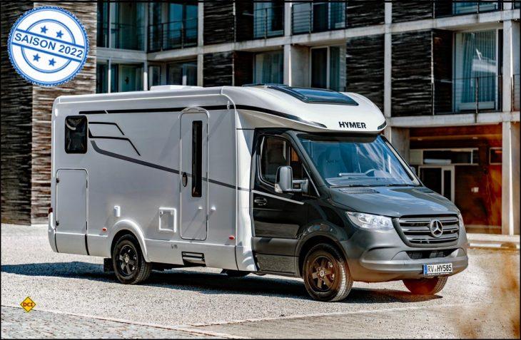 Mit dem Tramp S 585 präsentiert Hymer für 2022 einen komplett überarbeiteten Grundriss der Modellreihe und will neue Maßstäbe in puncto Komfort und Ausstattung setzten. (Foto: Hymer)