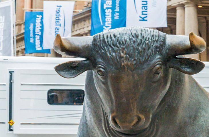Die Knaus Tabbert AG ist mit dem ersten Jahr an der Börse rundum zufrieden. (Foto: Deutsche Börse AG / M. Joppen)