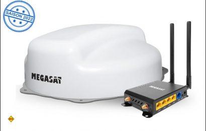 Mit dem Camper Connected LTE-WiFi-System sorgt Megasat in Reisemobil und Caravan für einen ungestörten Internetempfang. (Foto: Megasat)
