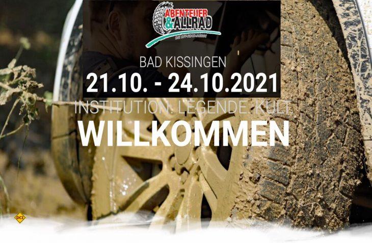 Jetzt wieder Live: Die weltgrößte Offroad-Messe Abenteuer & Allrad findet 2021 wieder statt. (Foto: Prolog)