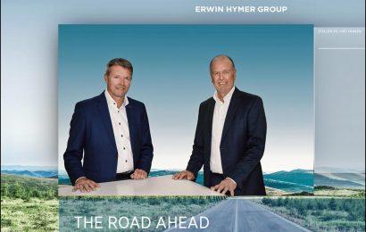 Die Erwin Hymer Group (EHG) kann beeindruckende Umsatzzahlen melden: CEO Martin Brandt (rechts) und COO Jan Francke bei der digitalen Pressekonferenz der EHG. (Screenshot / D.C.I.)