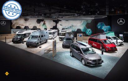 Mercedes-Benz Vans zeigte auf dem Caravan Salon sein komplette Angeot für den Caravaning-Bereich. Der neue Citan als Micro-Camper hatte Weltpremiere. (Foto: Mercedes-Benz)